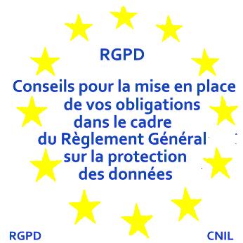 Nous vous conseillons pur la mise en place de vos obligations dans le cadre du Règlement Général sur la Protection des Données