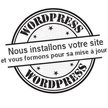 Nous installons votre site wordpress