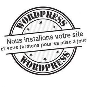 logo nous installons votre site